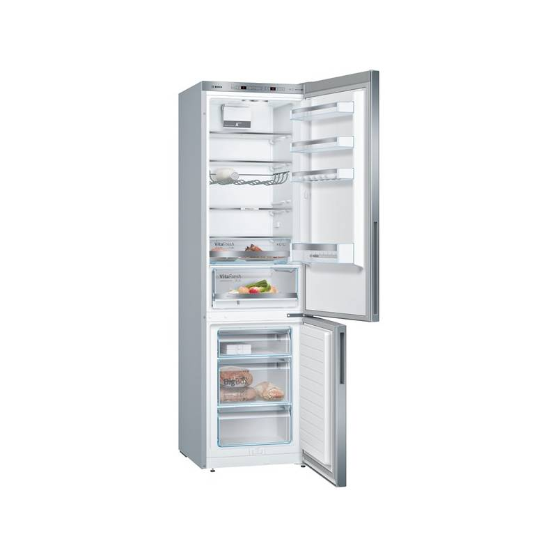 Kombinácia chladničky s mrazničkou Bosch KGE39VL4A nerez + Doprava zadarmo