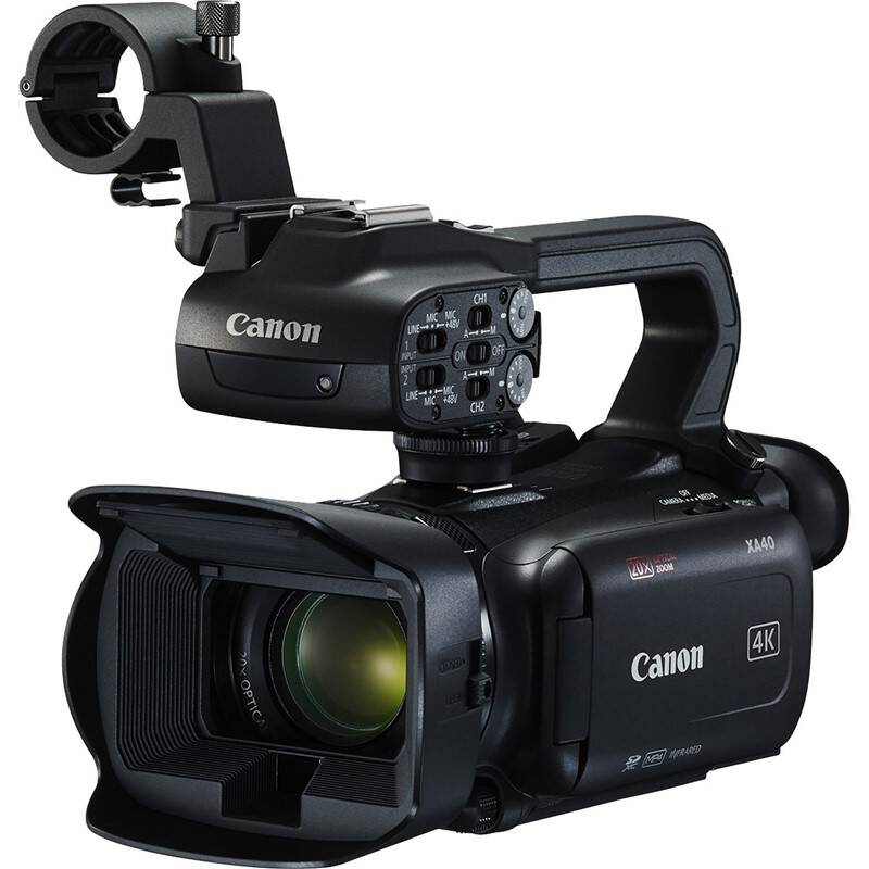 Videokamera Canon XA40 (3666C007) čierna + Doprava zadarmo