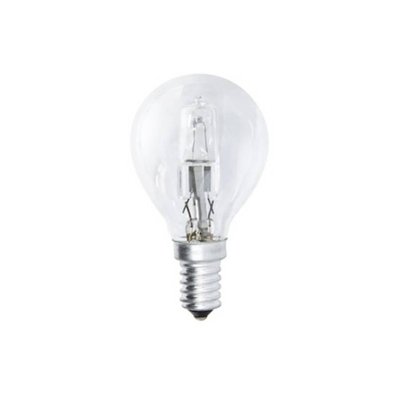 Halogénová žiarovka EMOS klasik, 18W, E14, teplá bílá (ECCL18-P45E14)