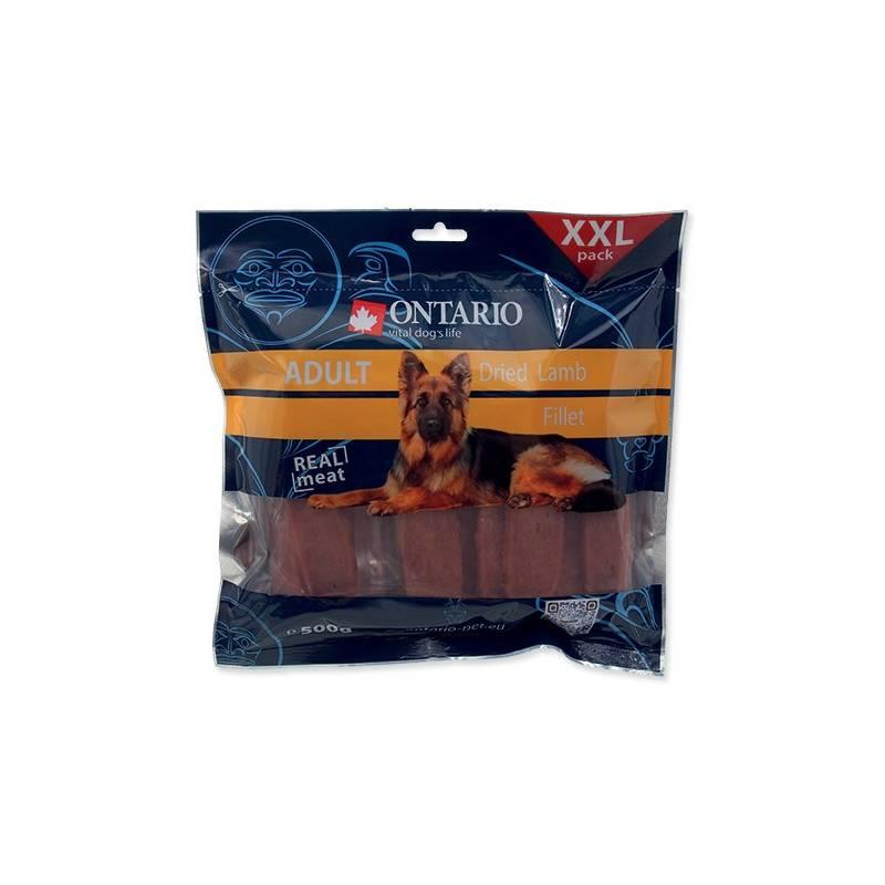 Pochúťka Ontario SnackAdult Dry Lamb fillet 500 g