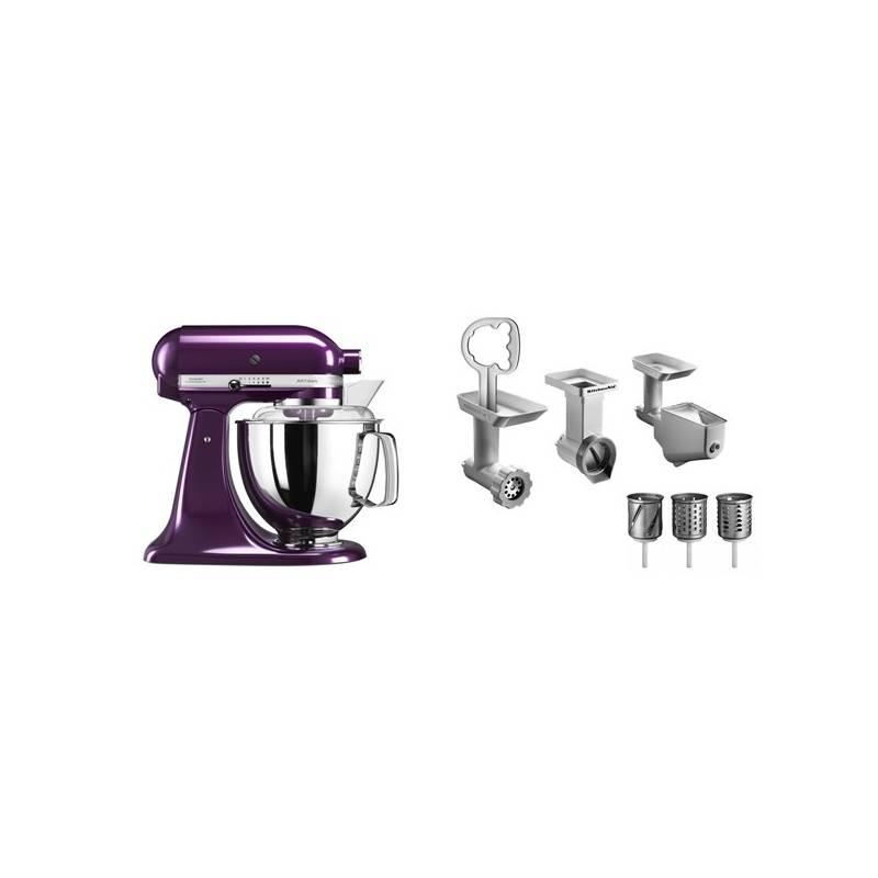 Set KitchenAid - kuchyňský robot 5KSM175PSEPB + FPPC balíček s příslušenstvím + Doprava zadarmo