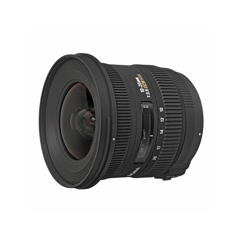 Objektiv Sigma 10-20 mm f/3.5 EX DC HSM Nikon černý