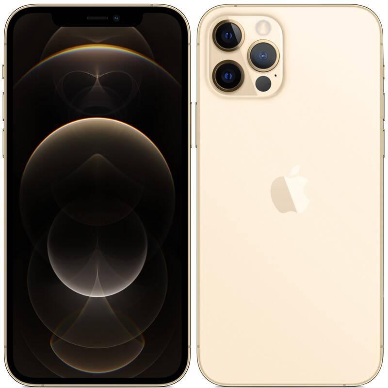 Mobilný telefón Apple iPhone 12 Pro 128 GB - Gold (MGMM3CN/A) + Doprava zadarmo
