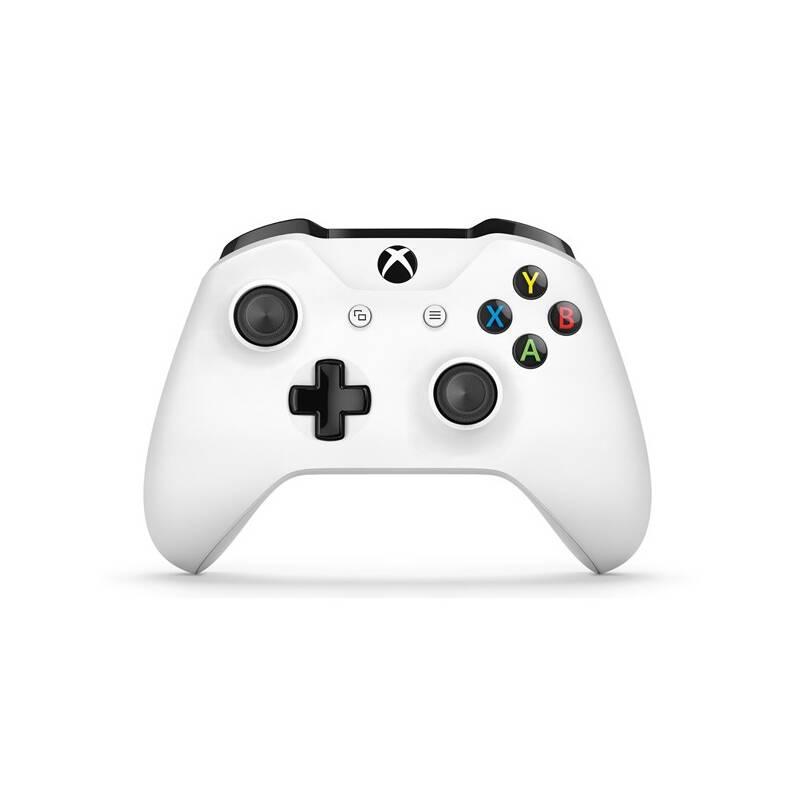 Gamepad Microsoft Xbox One S Wireless - bílý (TF5-00004)