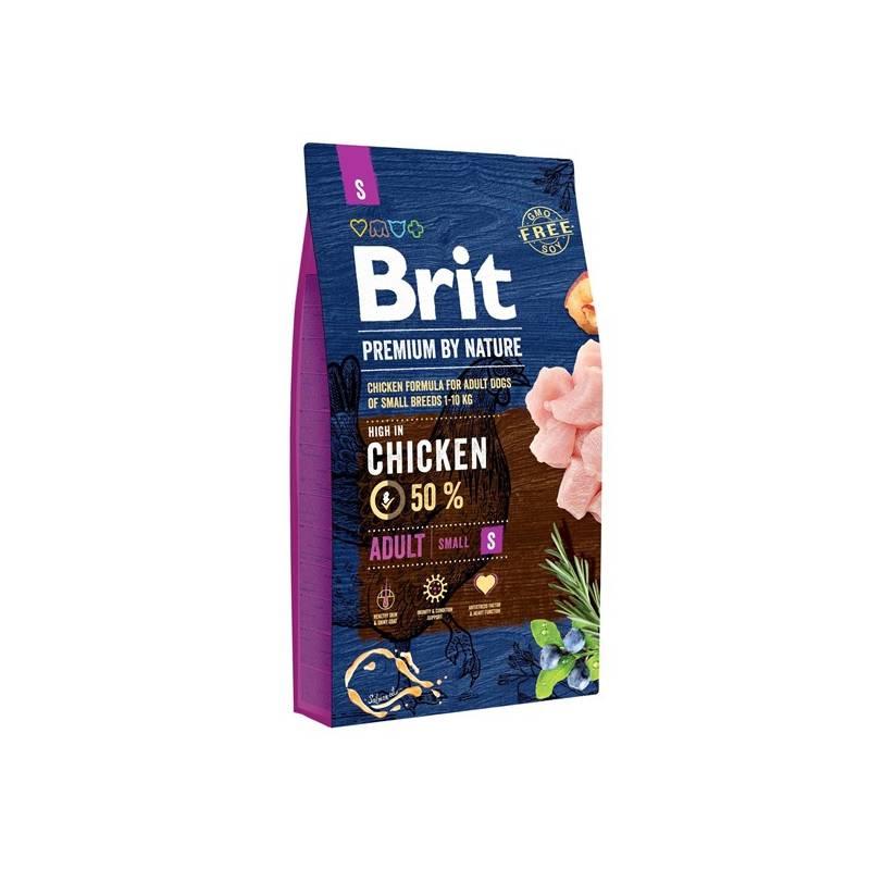 Granule Brit Premium Dog by Nature Adult S 8 kg