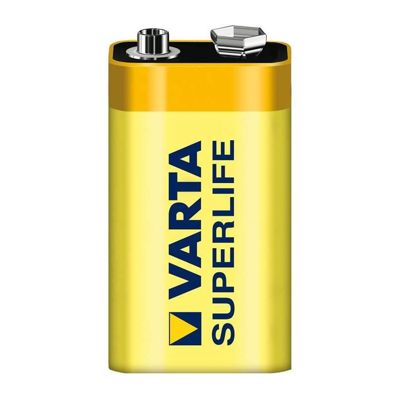 Batéria Varta 9V Superlife žltá
