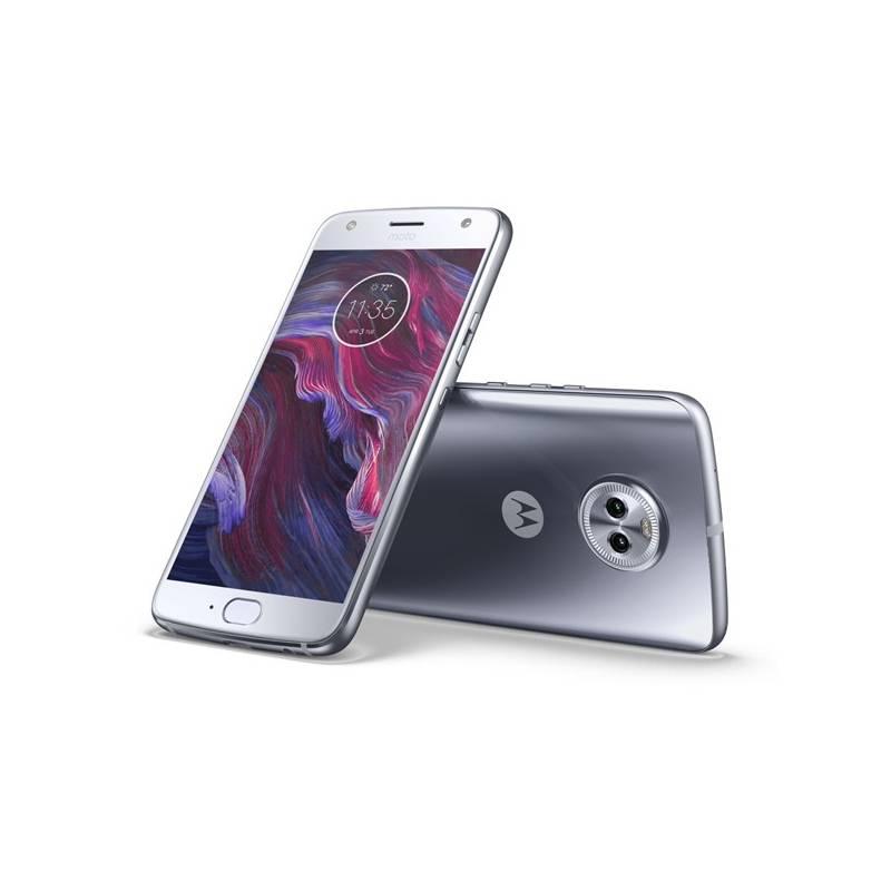 Mobilný telefón Motorola Moto X4 Dual SIM (PA8X0007CZ) modrý