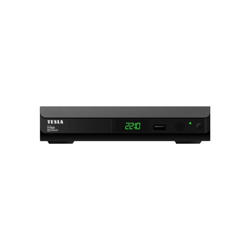 DVB-T2 prijímač Tesla Duplex T2 Dual čierny