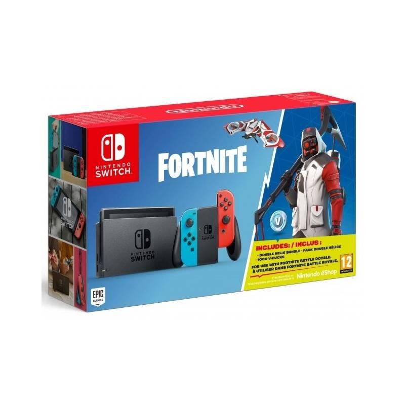 Herná konzola Nintendo SWITCH + Fortnite (NSH055)