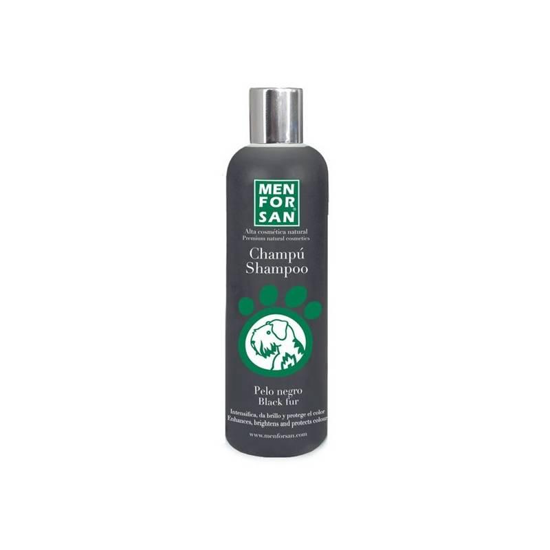 Šampón Menforsan zvýrazňující černou barvu 300 ml