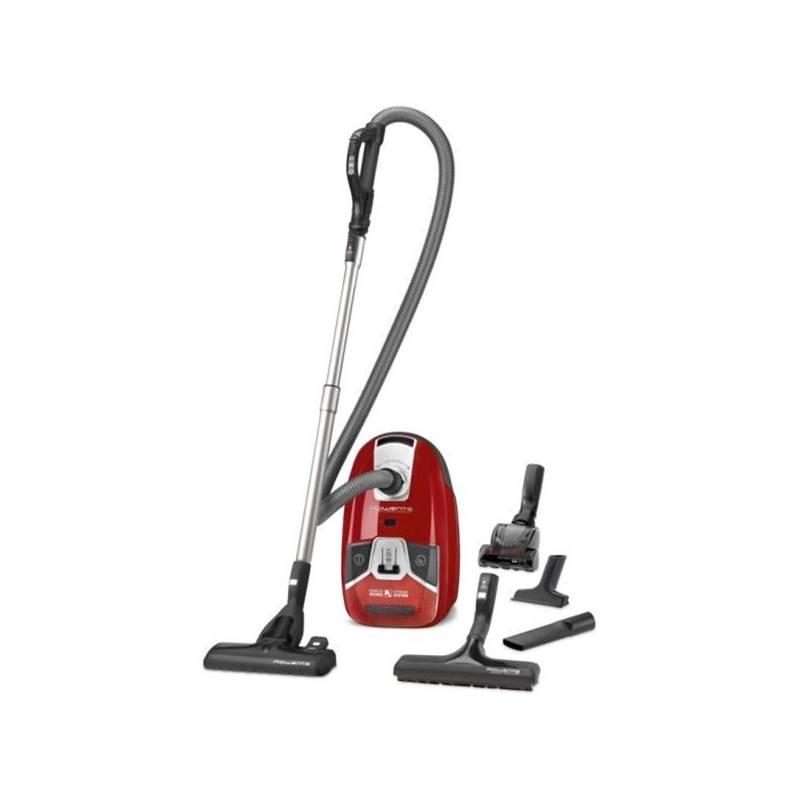 Vysávač podlahový Rowenta Silence Force Compact AAAA RO6383EA červený