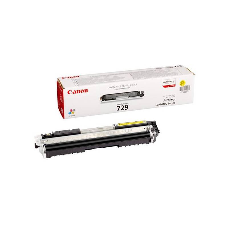 Toner Canon CRG-729Y, 1000 stran - originální (4367B002) žltý
