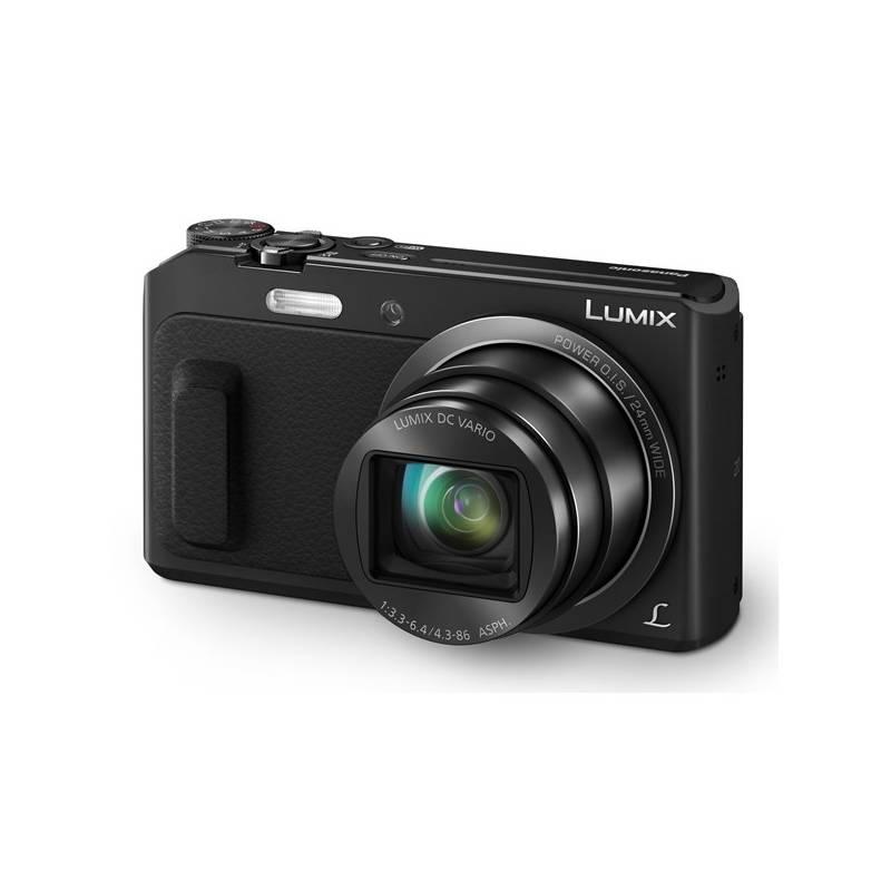 Digitálny fotoaparát Panasonic DMC-TZ57EP-K čierny + Doprava zadarmo