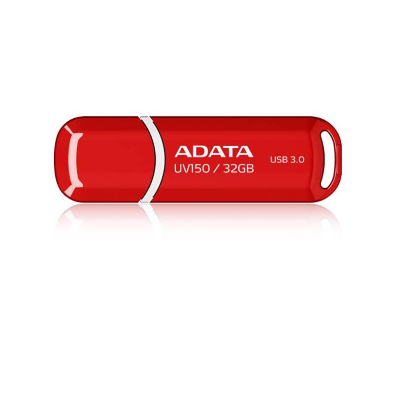 USB flash disk ADATA UV150 32GB (AUV150-32G-RRD) červený
