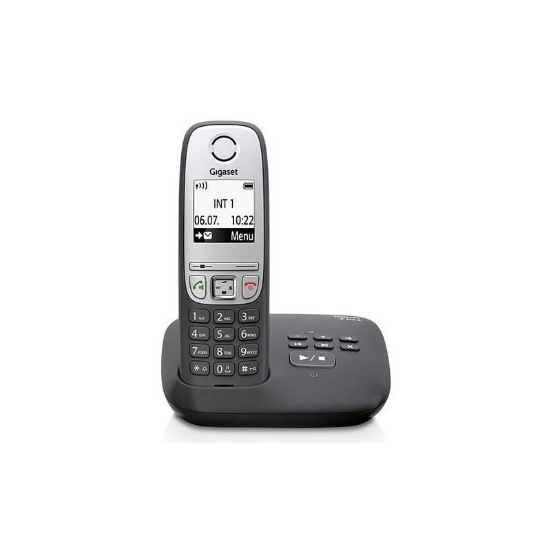Domáci telefón Siemens Gigaset A415A (S30852-H2525-R601) sivý