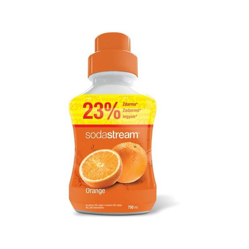 Príchuť pro šumivú vodu SodaStream Orange 750 ml