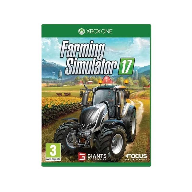 Hra GIANTS software Xbox One Farming Simulator 17 (3512899116696)