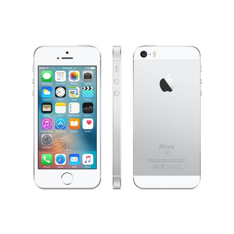 Mobilný telefón Apple iPhone SE 32 GB - Silver (MP832CS/A) Software F-Secure SAFE, 3 zařízení / 6 měsíců (zdarma)