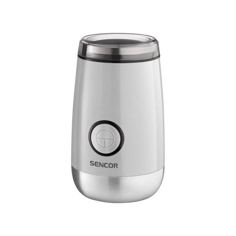 Mlynček na kávu Sencor SCG 2052WH (444150) biely