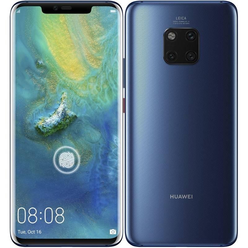 Mobilní telefon Huawei Mate 20 Pro (SP-MATE20PDSLOM) modrý