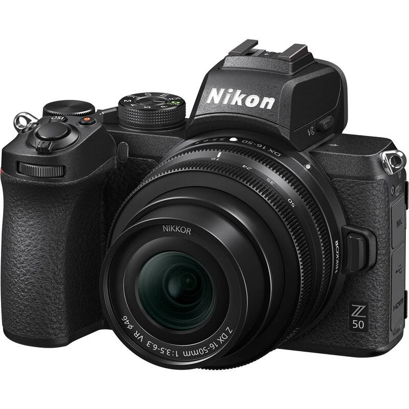 Digitálny fotoaparát Nikon Z50 + 16-50 VR (VOA050K001) čierny + Doprava zadarmo