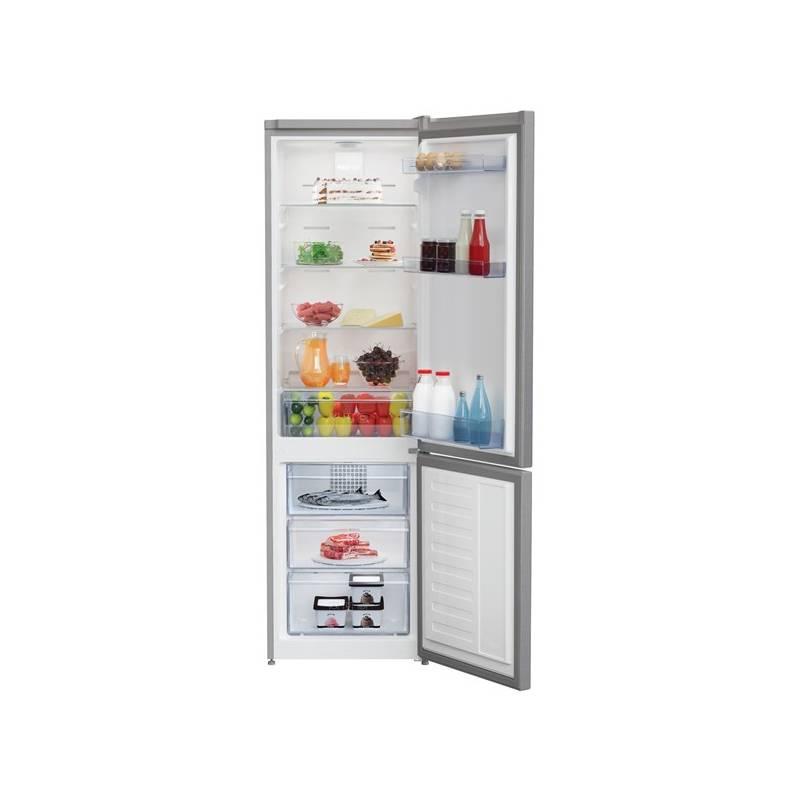 Kombinácia chladničky s mrazničkou Beko CNA 295 K20X nerez + Doprava zadarmo