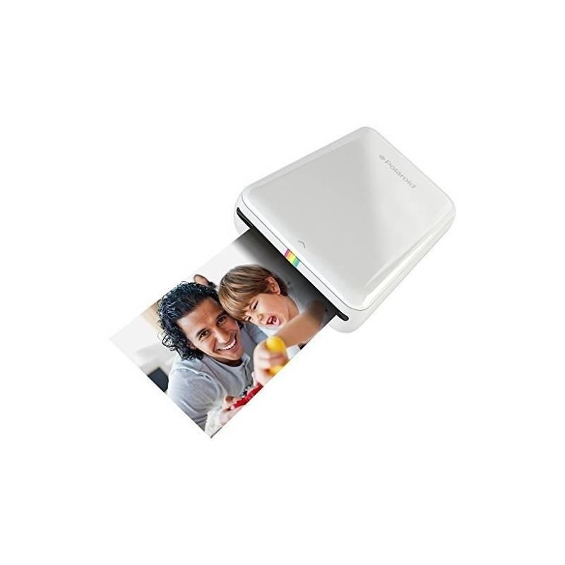 Fototlačiareň Polaroid ZIP pro Android / iOS, bezdrátová, mobilní (POLMP01W) biela