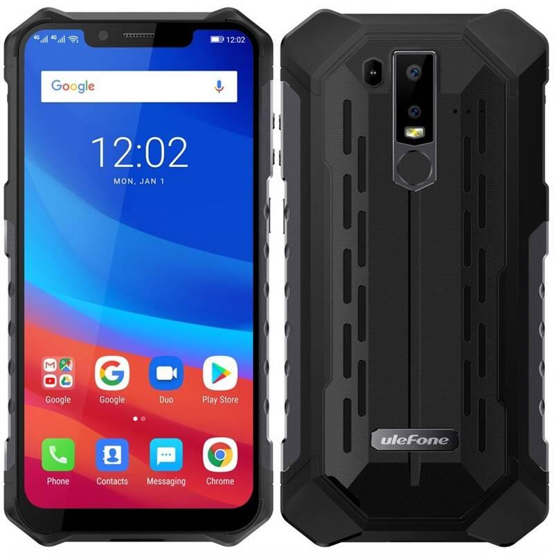 Mobilní telefon UleFone Armor 6S (ULE000288) černý