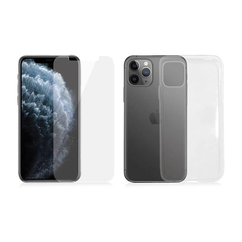Ochranné sklo PanzerGlass pro Apple iPhone 11 Pro + kryt na mobil Clear Case (B2661) priehľadné + Extra zľava 10 % | kód 10HOR2020 + Doprava zadarmo