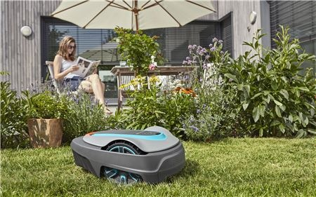 Sekačka robotická Gardena Sileno city 400