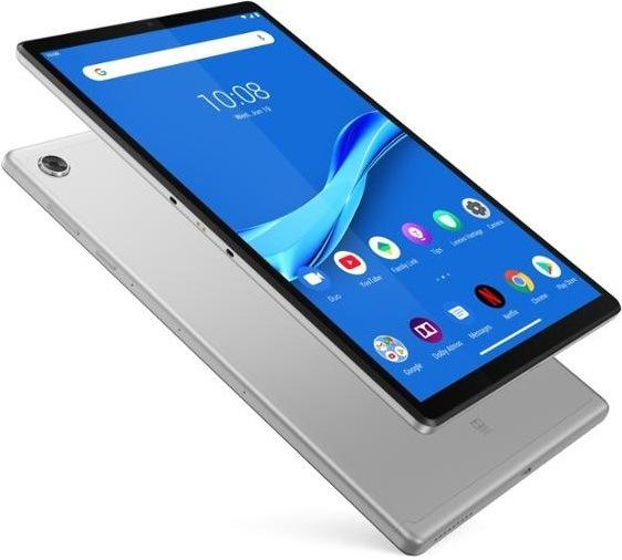 Dotykový tablet Lenovo Tab M10 Plus LTE 64 GB, GPS stříbrný (ZA5V0005CZ)