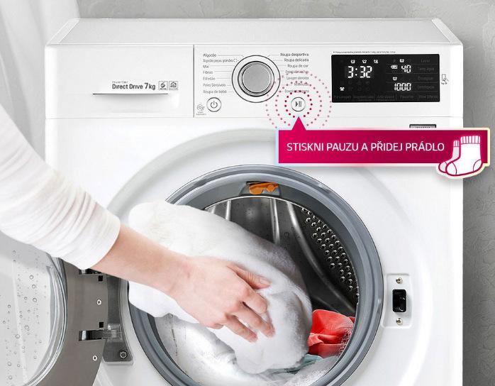 Přidat prádlo