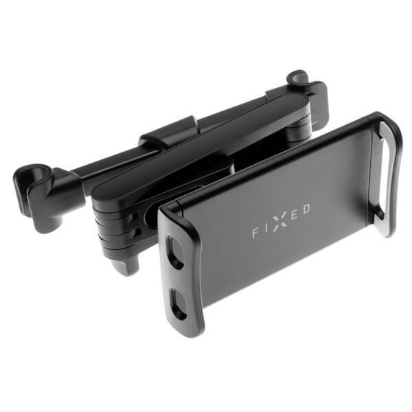 """Držák na tablet FIXED Tab Passenger 2 s uchycením do opěrky hlavy, 7-13"""" (FIXTAB-PAS2-BK) černý"""