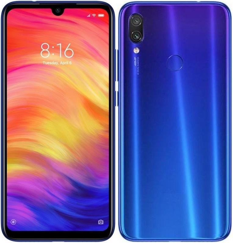 Xiaomi Redmi Note 7, modrá