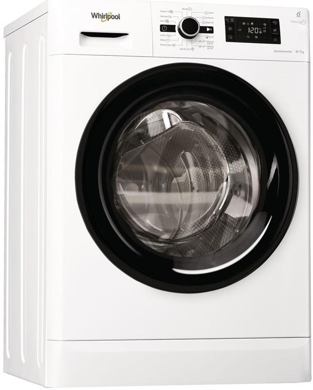Whirlpool FWDG97168B EU, bílá