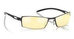 GUNNAR kancelářské brýle SHEADOG ONYX/ černé obroučky/ jantarová skla