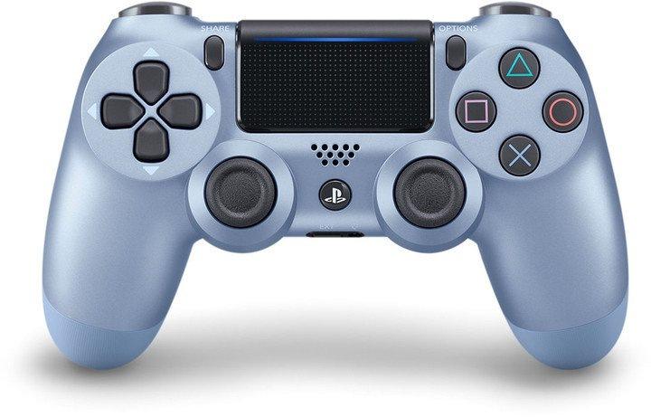 Sony Dual Shock 4 v2 pro PS4, titanum blue