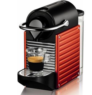 Krups Nespresso XN 3006 Pixie, červená