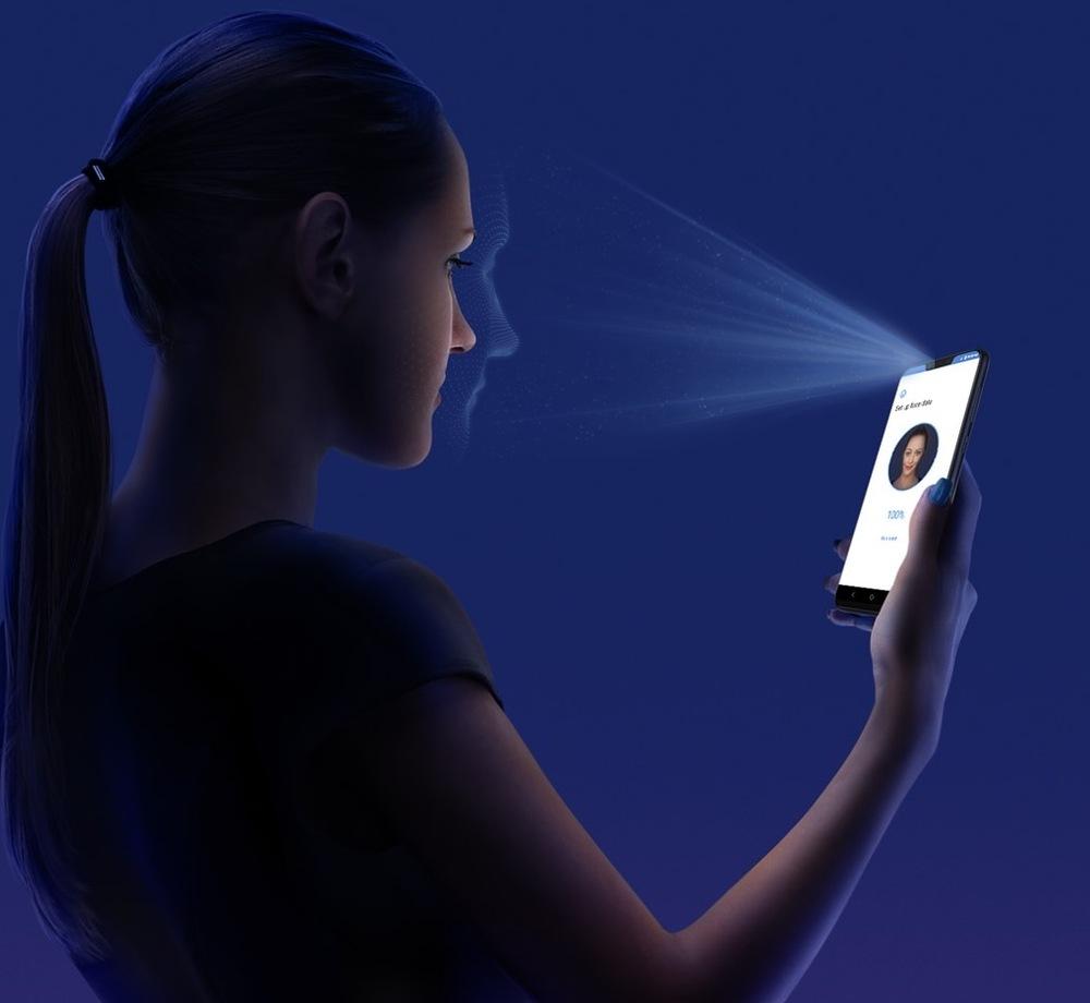Rozpoznávání obličeje (ASUS ZenFone Max M2)