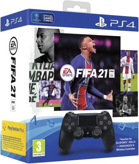 Sony DualShock 4 v2 + FIFA 21