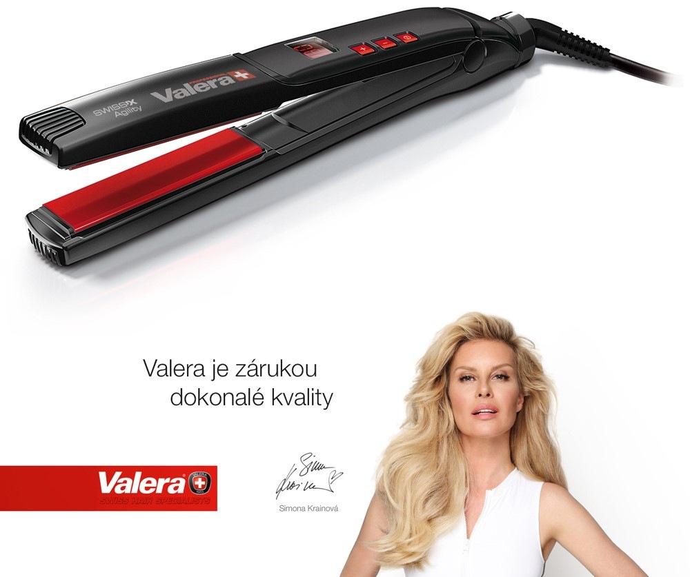 Žehlička na vlasy Valera Swiss x Digital 100.20 čierna farba  d22ec0d9190