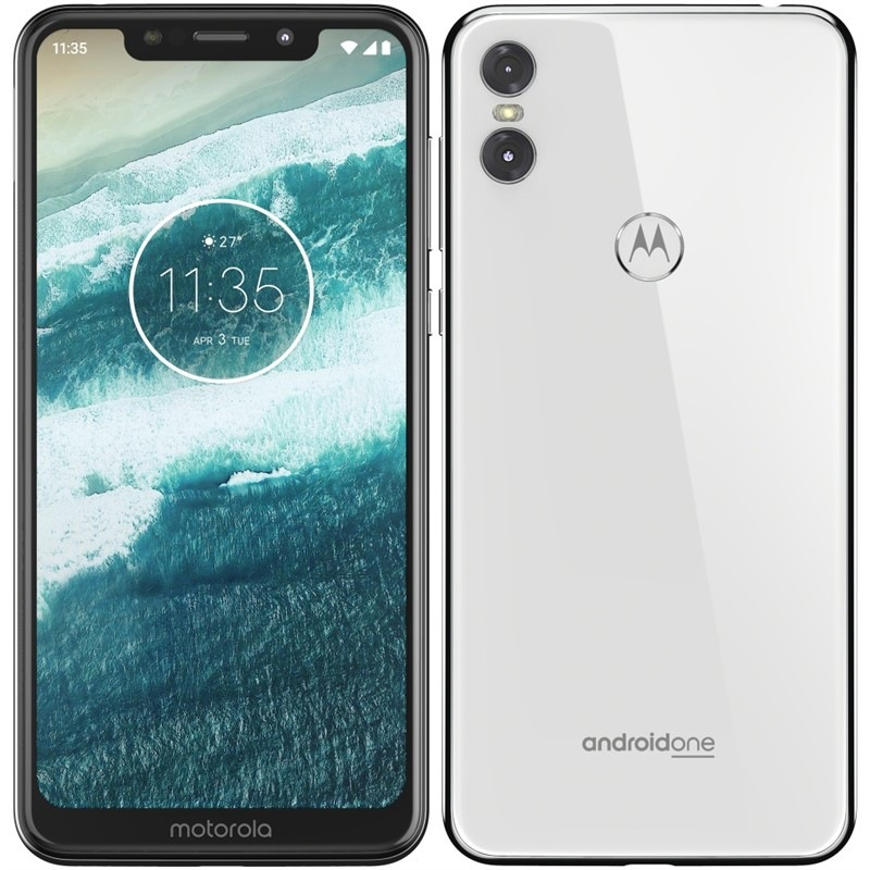 Motorola One Lite Dual SIM, bílá