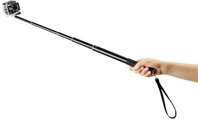 GoGEN Selfie tyč 3, černá
