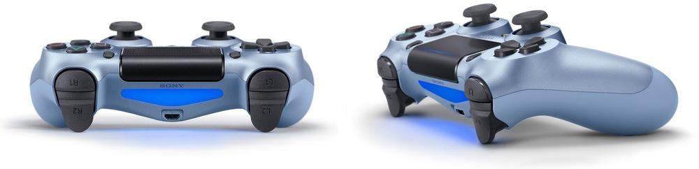 Ovladač Sony Dual Shock 4 v2 pro PS4, rose gold