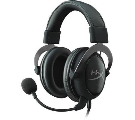 KINGSTON HyperX Cloud II – Pro Gaming Headset, kovová