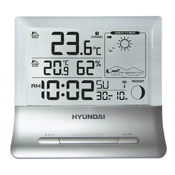 Hyundai WS 2266, strieborná