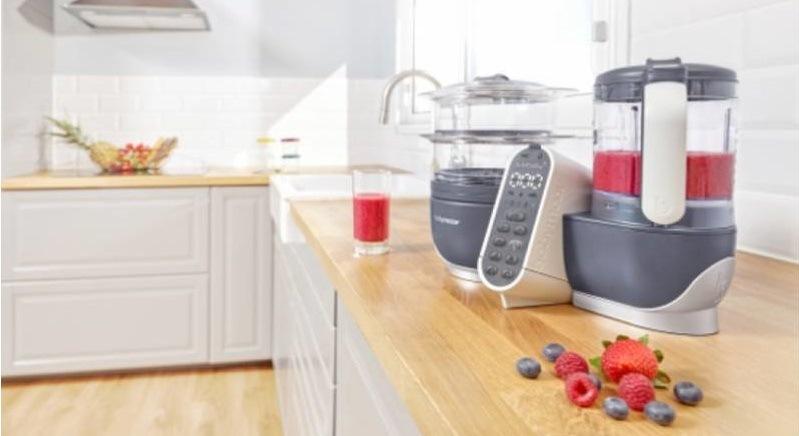 Multifunkční přístroj Babymoov Nutribaby+ Industrial Grey