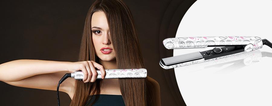 Žehlička na vlasy ETA Camila 2336 90000 sivá biela ružová  41973825254