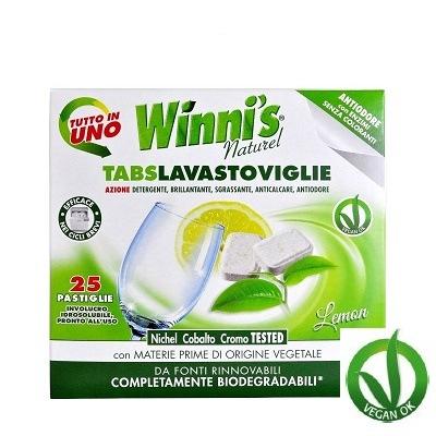 MADEL 349 Tabs Lavastoviglie 25 ks Hypoalergenní multifunkční tablety do myčky nádobí