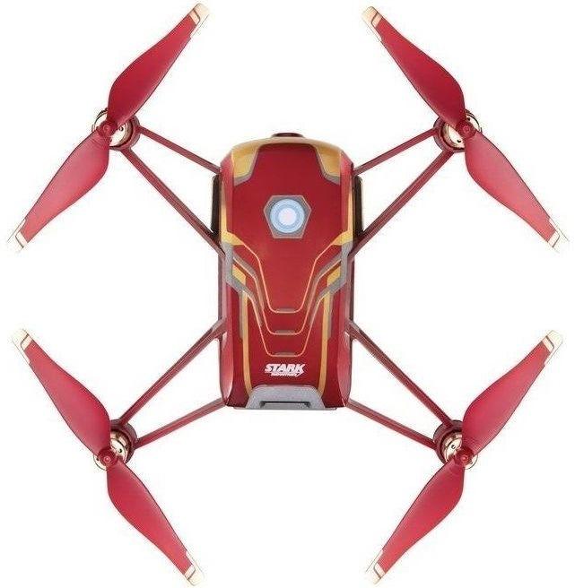 Ryze Tech Tello, Iron Man Edition, červená/zlatá